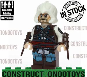 Edward Kenway Lego Custom Pad Uv Printed Minifigure Edward Kenw