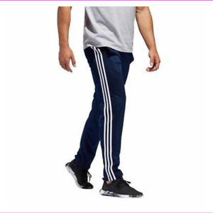 42cd3e1150bc Adidas Mens Pants White Stripe Game Day Athletic Workout Gym Lounge ...