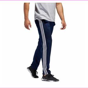 Adidas Mens Pants  White Stripe Game Day Athletic Workout Gym Lounge