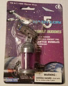 1995-BABYLON-5-BUBBLE-BUDDIES-BUBBLE-MAKER-NIP-GRAPE-E9-18dr