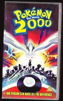POKEMON 2000 - THE MOVIE - PAL VHS (UK) VIDEO