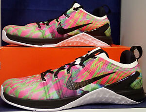01cc05125bc8f Nike Metcon DSX Flyknit 2 WP WOD Paradise Multi-Color CrossFit SZ 9 ...