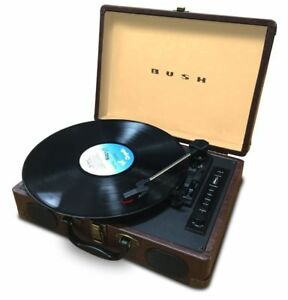 BUSH-Portable-Mini-Turntable-USB-MP3-Record-Player-Refurbished-good-condition