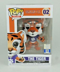 Funko-Pop-Clemson-The-Tiger-Sports-College-Mascots-Viny-Figure-02-Brand-New