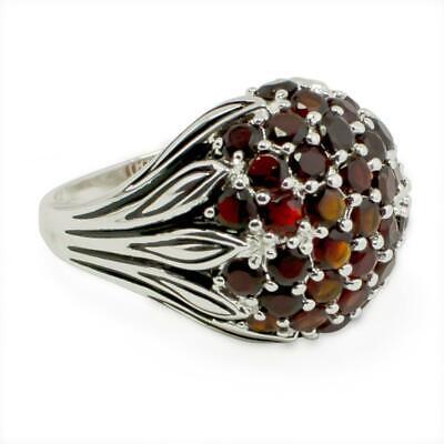 Size 10 BestPysanky Cubic Zirconia Rhodium Sterling Silver Mens Ring