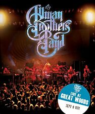 THE ALLMAN BROTHERS BAND LIVE AT GREAT WOODS DVD NUOVO SIGILLATO !!