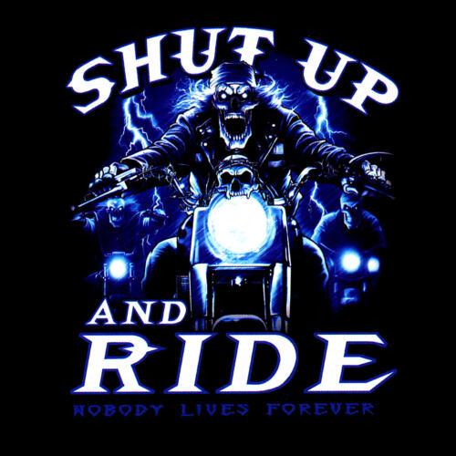 * Biker Chopper Motorcycle  Rider Skull Motorrad T-Shirt *4140 LS