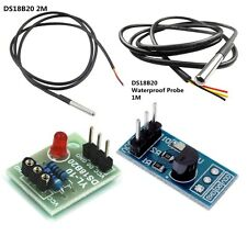12m Ds18b20 Temperature Sensitive Module Thermometer Waterproof Cable Probe