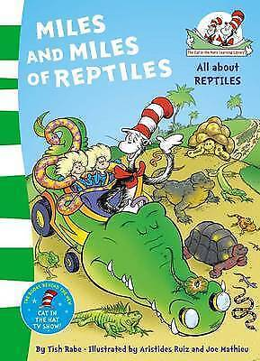 1 of 1 - The Cat in the Hat's Learning Library - Miles and Miles of Reptiles