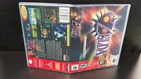 Zelda Majora's Mask Nintendo 64 Game Case No Game