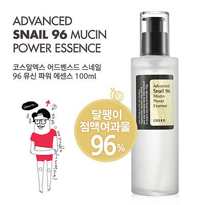 [COSRX] Advanced Snail 96 Mucin Power Essence 100ml - Korea Cosmetic