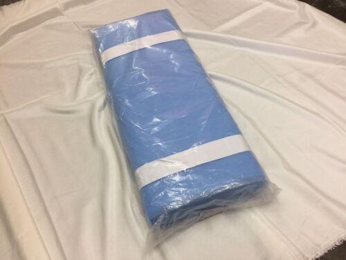 "1 Bolt Luxurious Tulle Fabric Mesh Nylon 50 Yards Bolt 108/""Width Blue"