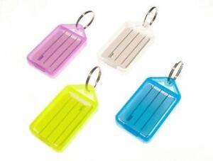* Nouveau 100 X Large Porte-clés Différentes Couleurs Avec Le Nom De Carte 5g7-afficher Le Titre D'origine Usines Et Mines