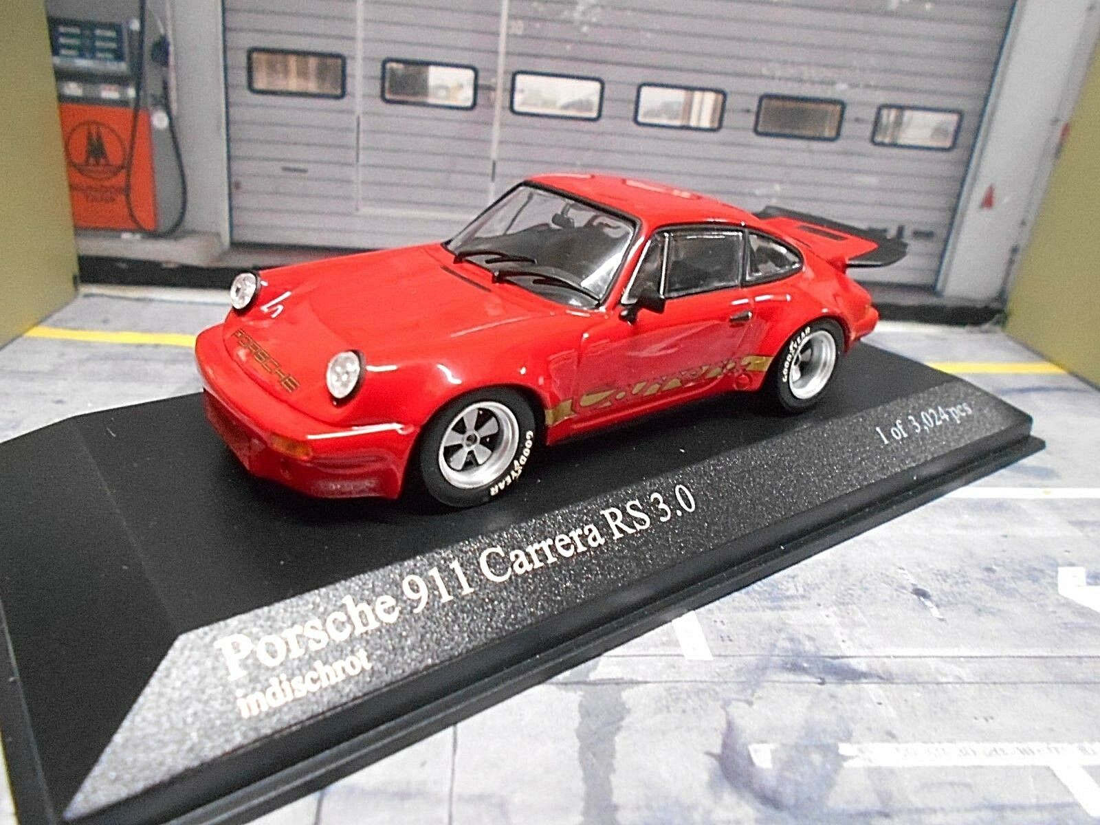 Porsche 911 Carrera RS 3.0 g modelo rosso rosso ready to Race transformación based pma 1 43