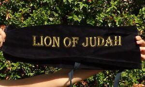 Details about L-XL Lion of Judah SHOFAR BAG Yemenite Kudu blow horn big  long chofar case cover