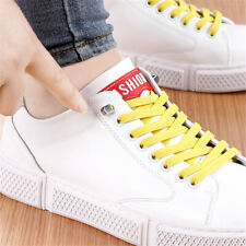 1Pair Free Tie-free Shoelace Elastic Lazy Shoelaces Flat Shoe Laces String