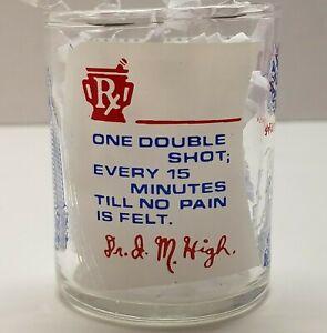 VTG-Louisiana-Shot-Glass-Superdome-Riverboat-Rx-Doctor-Humor-Shot-Glass-Cylinder