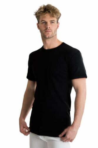 Extra Warm British Made RP Collections® Mens Thermal Underwear Short-Sleeve Top