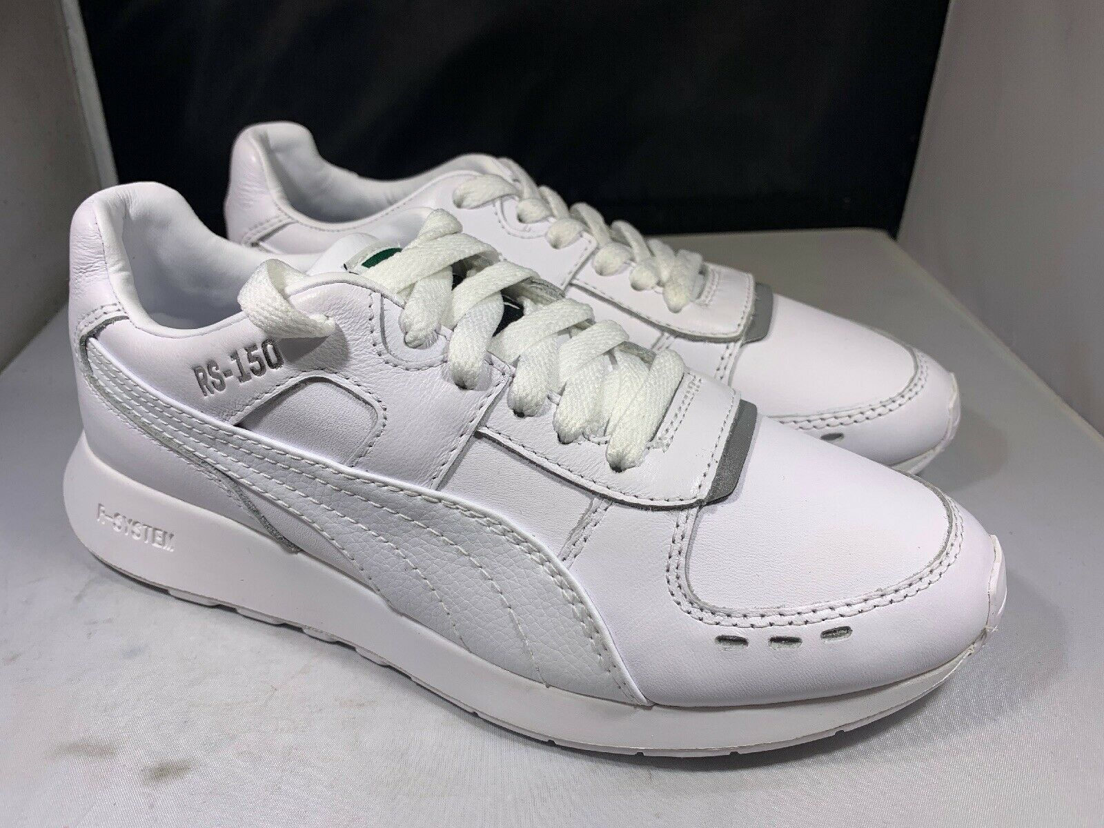 Puma RS-150 White Women's Size 7  36945401 ( H23)