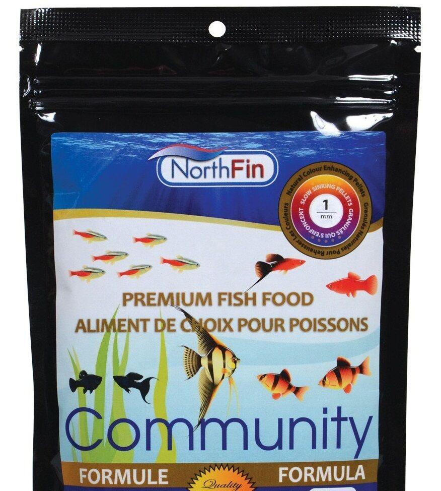 NorthFin Community Formula 1 mm Sinking Pellet FISH FOOD 2.5 KG  FREE SHIPPING