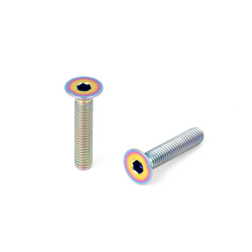Bicycle screw Thread Stem Replacement Accessory Titanium Alloy Durable