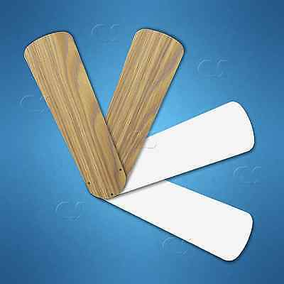 "Replacement Blades for 42"" Ceiling Fan 4/pk Weathered Oak / White _328-B10"
