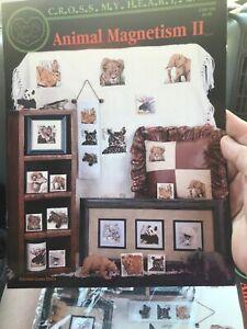 Cross-My-Heart-Animal-Magnetism-II-Cross-Stitch-Pattern-Turtle-Bear-Koala-Wild