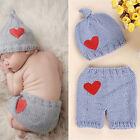 Newborn Baby Girls Boys Crochet Knit Costume Photo Photography Prop Outfits Hot