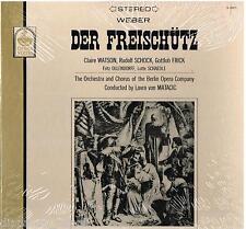 Weber: Der Freischütz / Matacic, Watson, Schock, Schädle - LP