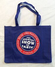 The GREATEST SHOW ON EARTH Ringling Bros Barnum & Bailey CIRCUS Grocery TOTE BAG