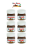 9 Mini Nutella Personalised Gift Labels only ANY NAMES!