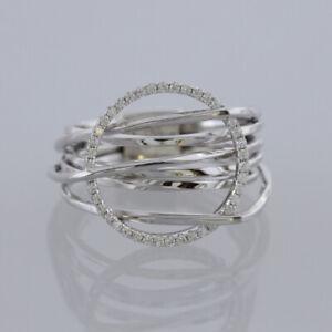 Poniros-Layered-Diamond-Ring-18ct-White-Gold-Size-M