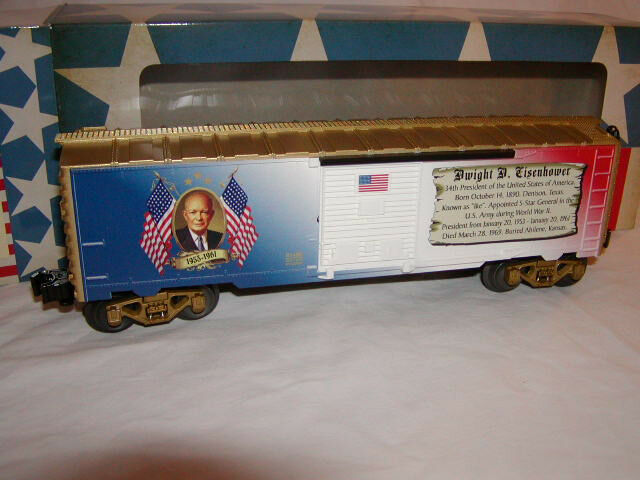 Dwight Eisenhower presidencial Lionel 6-81490 serie coche de caja o 027 EE. UU. 2014