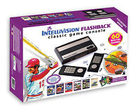 Intellivision Flashback Classic Game Console Retro System 60 In1 Plug N' Play