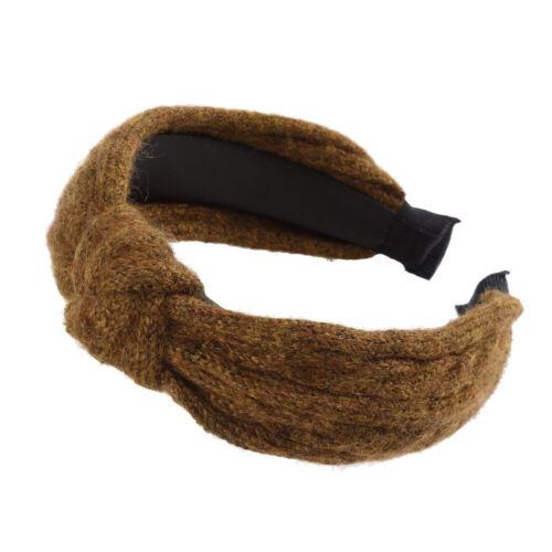 Fashion Women/'s Tie Headband Hairband Woolen Hair Hoop Band Accessories Headwear
