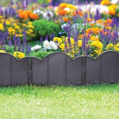 Garden Edging Lawn Flowerbed Border Fence Patio Fencing Landscape Weather Resist