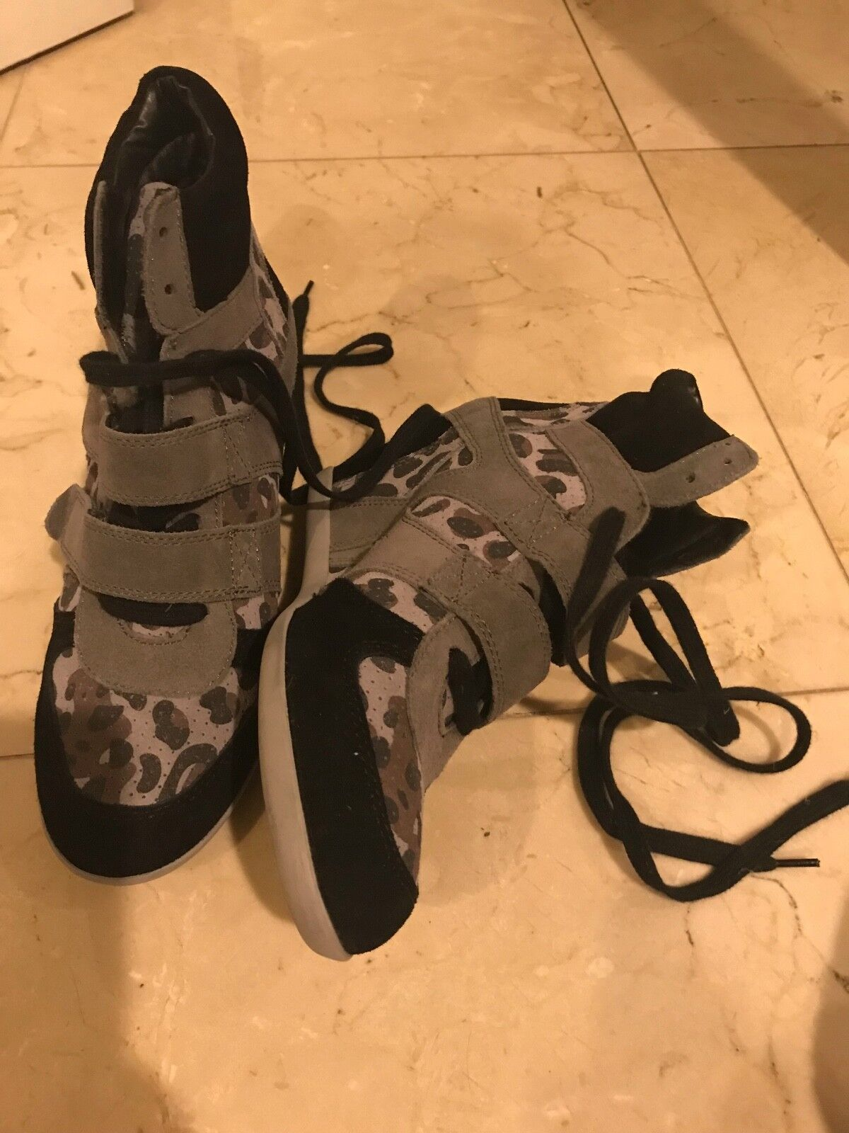 Nuova lista Preowned  ASH CAMO FASHION WEDGES WEDGES WEDGES avvioIES Dimensione 40  IVOWAISS  sconto online