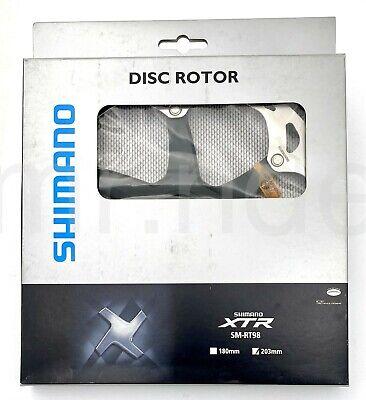 Shimano XTR MTB Bike Disc Rotor SM-RT97 180mm Center Lock w//LockRing ISMRT97M