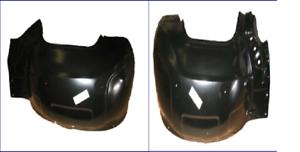 68-74 Nova Front Inner Fender Skirt Wheel Well House Pair LH /& RH Goodmark