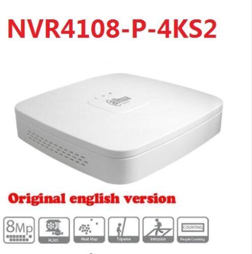EmpireTech NVR4104-P-4KS2 4 Channel Smart 1U 4PoE 4K/&H.265 Lite Network Video Recorder English Version