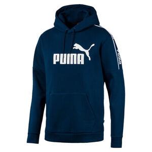PUMA Herren Amplified Hoody FL Sweatshirt Kapuzenpullover