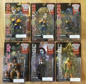 Série de 2000 Ad Collector, série 1, figurines de réaction, Judge Dredge, Death