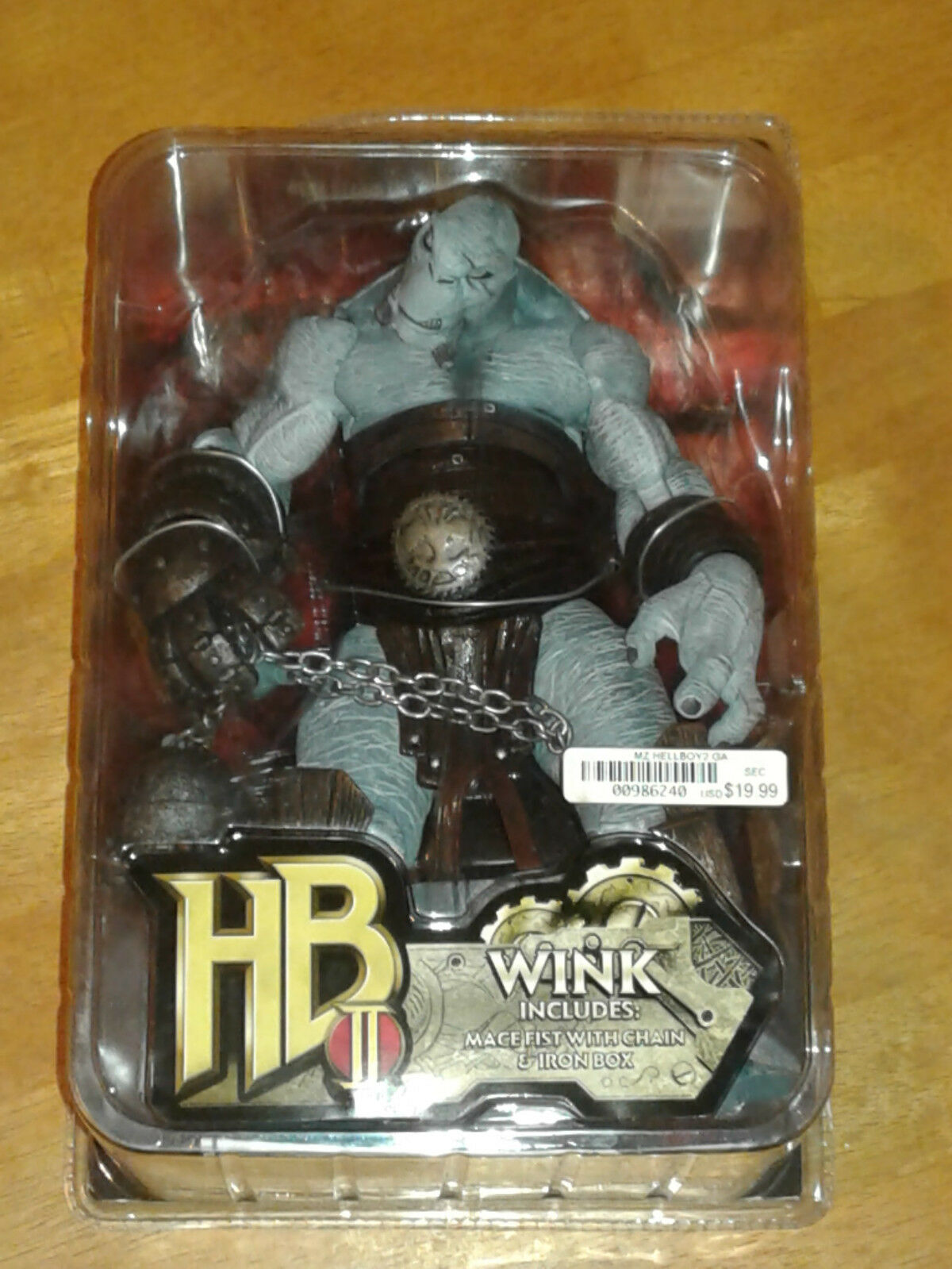 HELLBOY NEW - WINK - Hellboy 2   The golden Army 2008 Figure Mezco RARE