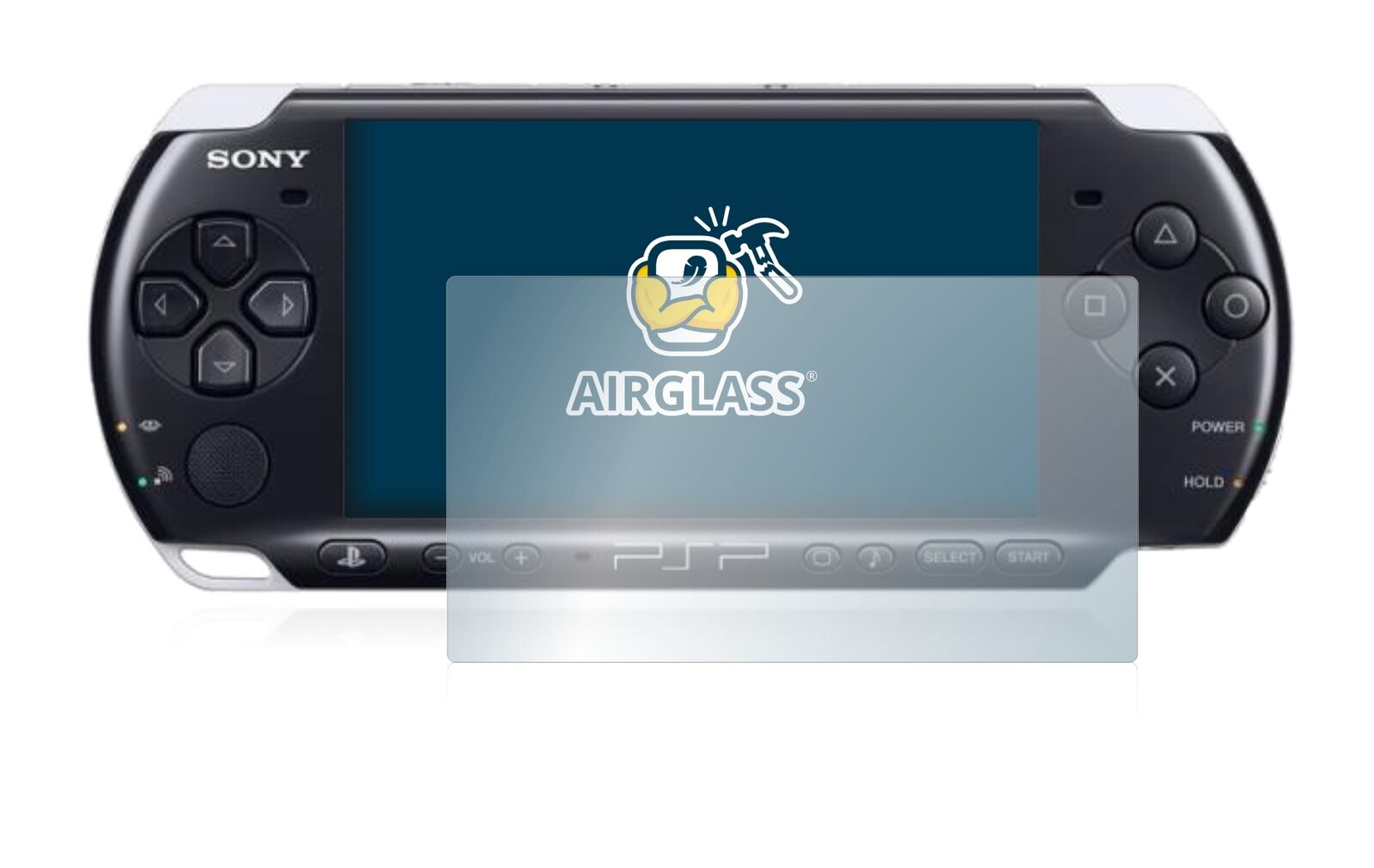 Tempered Glass Screen Protector for Sony PSP 3000 Film Protection