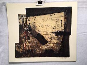 Robert-Watson-034-Area-Location-034-1967-Lithograph-Signed-Mid-Century-Art-Print