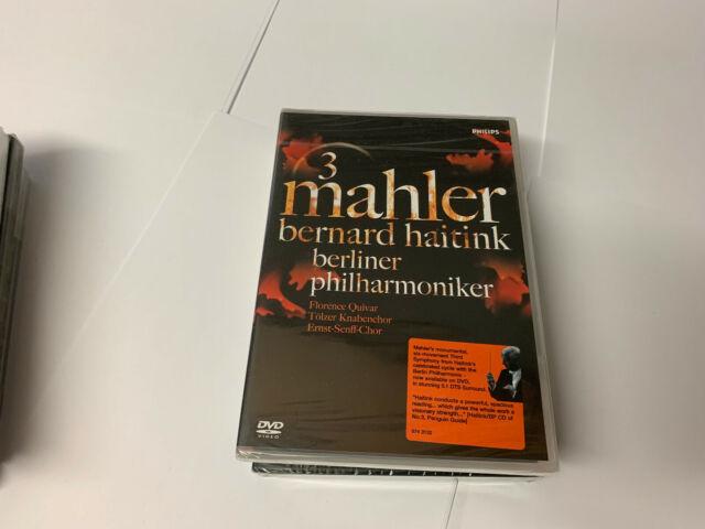 Mahler: Symphony No.3 In D Minor (Haitink) [DVD] [2006] REGION 0 RARE NEW SEALED