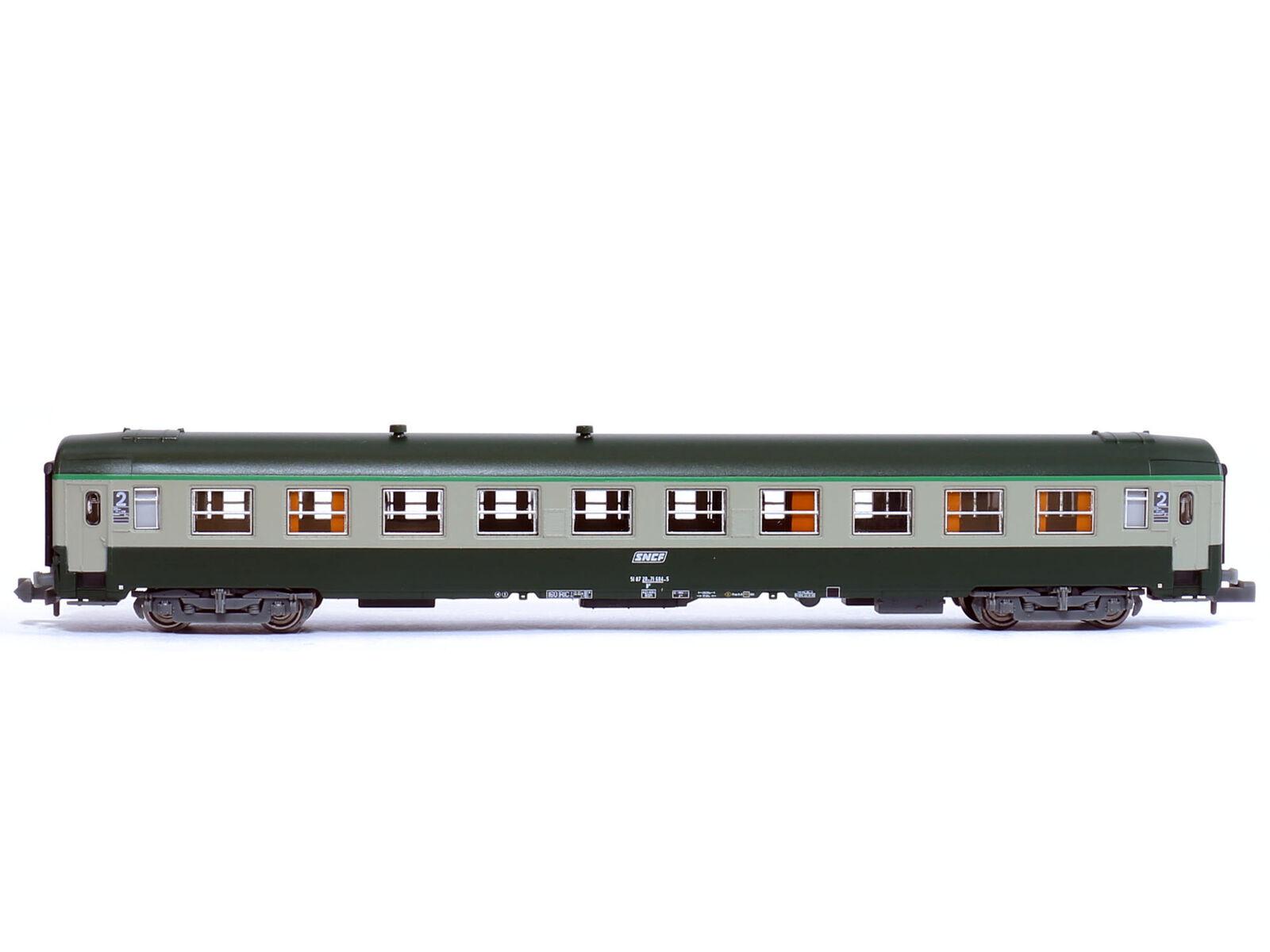 Ree nw-146 - vagoni treno rapido carro UIC Corail LOGO EPOCA V-Spur N