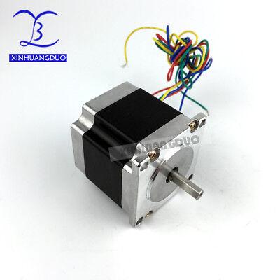 57BYGH112 for 3D Printer CNC Nema23 Stepper Motor 2 Phase 112mm Dual Shaft