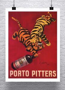 Porto-Pitters-1928-Vintage-Leonetto-Cappiello-Poster-Canvas-Giclee-24x32-in