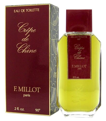 F.Millot Crêpe De Chine EDT Spray 30ml 50ml 100ml 240ml RAR Vintage